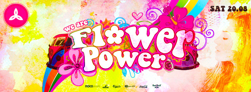 Flyer We are flower power