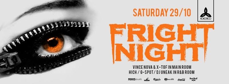 Flyer Fright Night