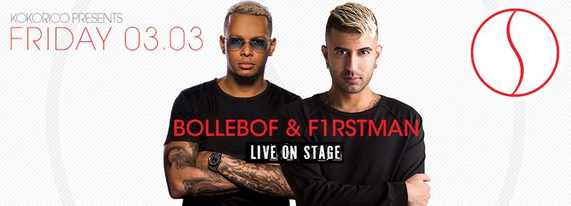 Flyer ✶ Seduction - F1rstman & Bollebof LIVE ✶