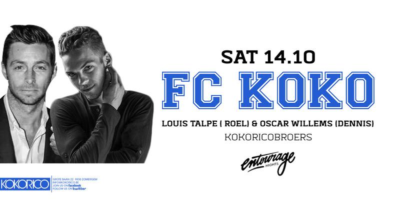 Flyer FC koko invites Louis Talpe (Roel)  & Oscar Willems (Dennis) ⚽️