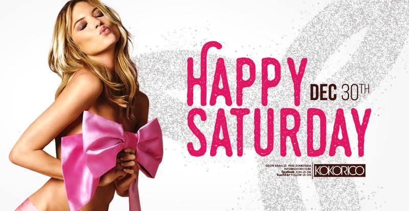 Flyer happy saturday