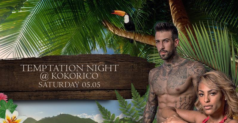 Flyer Temptation Night