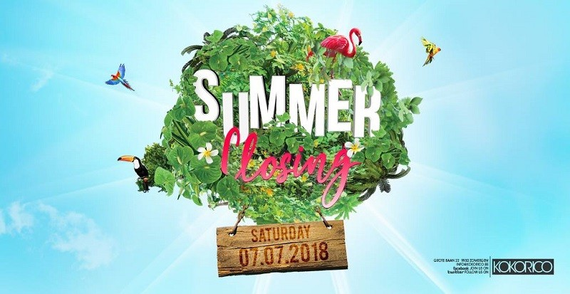 Flyer Summer closing party