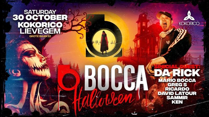 Flyer Bocca Reunion I The Legendary Halloween Edition