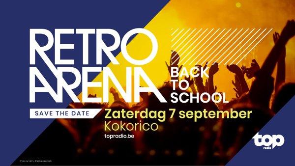 Flyer Retro arena