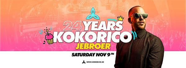 Flyer 24 years Kokorico with JEBROER