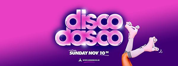 Flyer Disco Dasco ♪ Sun Nov 10th ♪