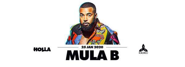 Flyer Mula B Live on Stage