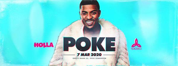 Flyer Poke Live on stage