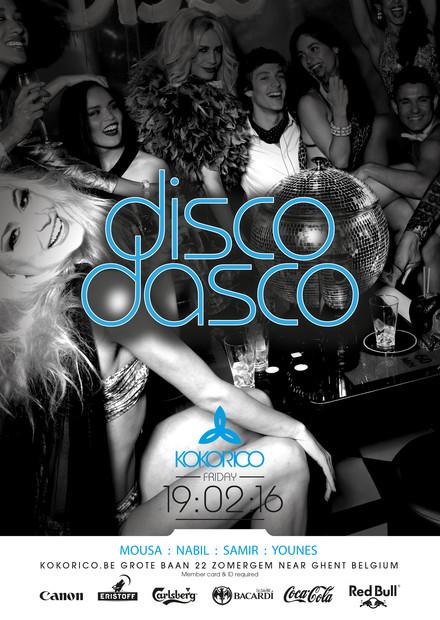Flyer Disco Dasco