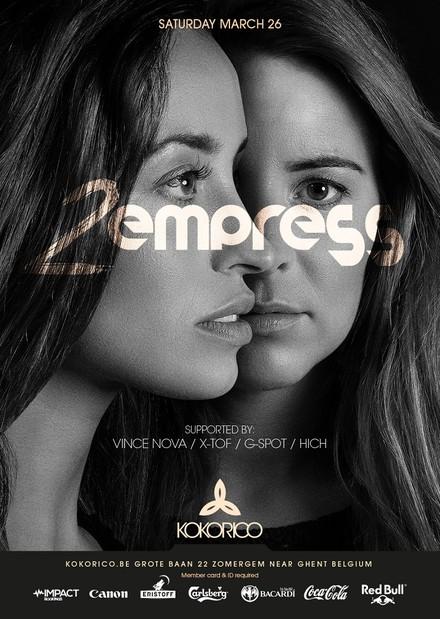 Flyer 2EMPRESS Meet&Greet + DJ-set