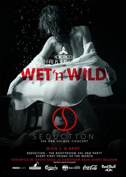 Flyer Seduction - wet 'n' wild
