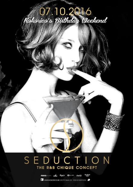 Flyer Seduction - 21Y - Birthday Weekend