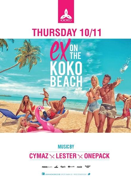 Flyer Ex on the Koko beach
