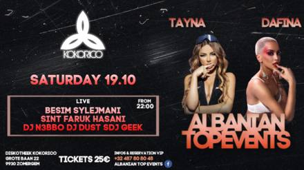 Flyer Albanian Top Events