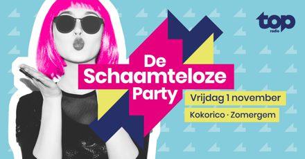 Flyer De schaamteloze party