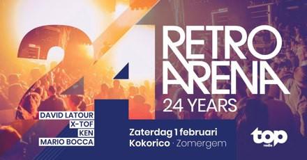 Flyer 24 years Retro Arena